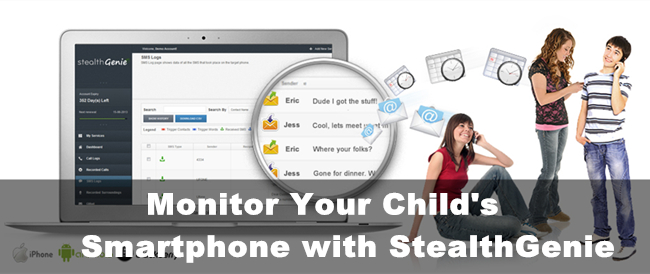 Monitor Your Child's Smartphone with StealthGenie