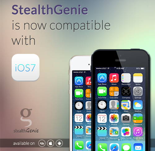 stealthgenie is now compatible with iOS 7